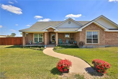 Abilene Single Family Home Active Option Contract: 165 Parker Drive