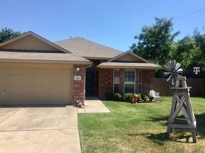 Rhome TX Single Family Home For Sale: $179,000
