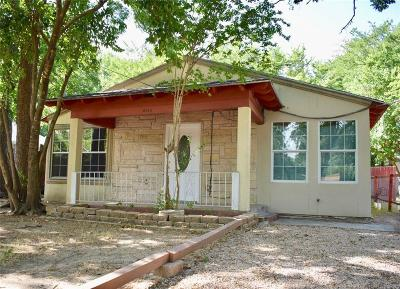 Dallas Single Family Home For Sale: 8725 Dunlap Street