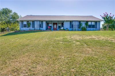 Azle Single Family Home Active Option Contract: 6248 Frank Christian Road