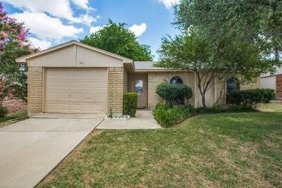 Allen Single Family Home For Sale: 531 Ridgemont Drive