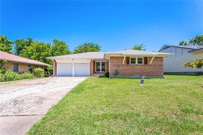 Allen Single Family Home Active Contingent: 404 N Bonham Drive