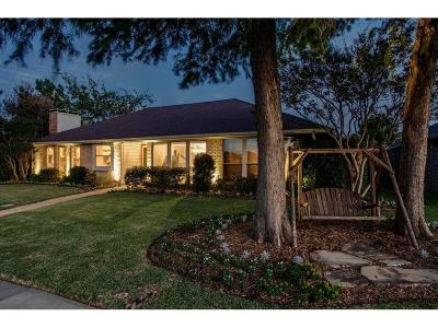 Carrollton Single Family Home Active Option Contract: 2802 Crooked Creek Drive