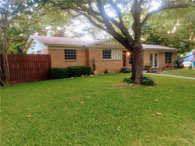 Burleson Single Family Home Active Option Contract: 135 Wanda Way