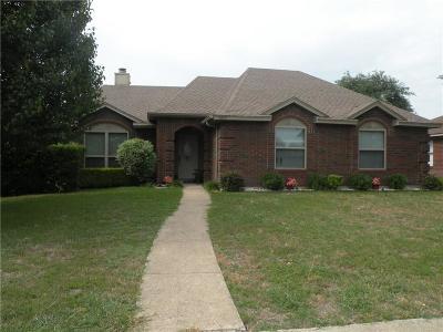 Rowlett Single Family Home For Sale: 3609 Drakestone Avenue