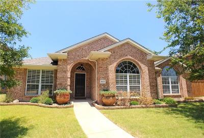 Allen Single Family Home Active Contingent: 1525 Tanglewood Drive