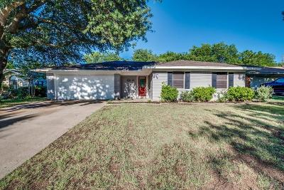 Midlothian Single Family Home Active Option Contract: 1508 Yucca Street