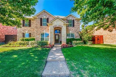 Allen Single Family Home For Sale: 1813 Flint Ridge Drive