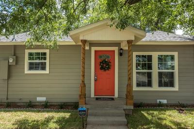 Fort Worth Single Family Home For Sale: 4104 Knox Street