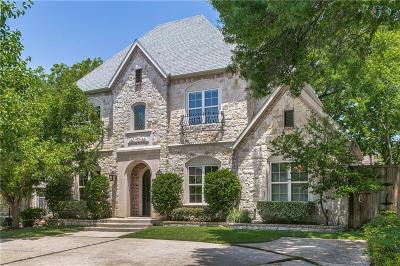 Dallas Single Family Home For Sale: 7643 Lovers Lane