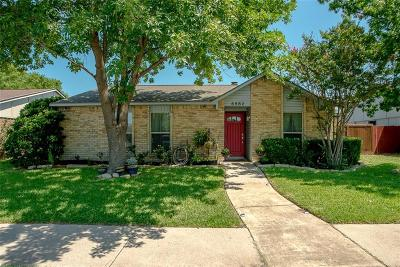 The Colony Single Family Home Active Contingent: 5552 N Colony Boulevard