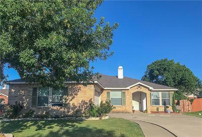 Rockwall, Fate, Heath, Mclendon Chisholm Single Family Home Active Option Contract: 2609 Chelsea Court