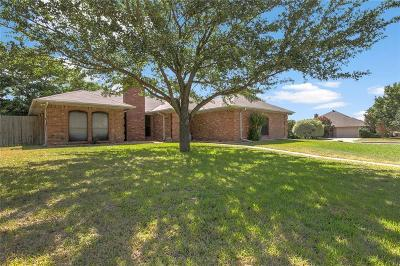 Burleson Single Family Home Active Option Contract: 1300 Downwood Drive