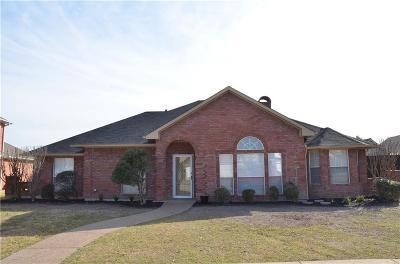 Carrollton Single Family Home Active Option Contract: 1137 Seminole Trail
