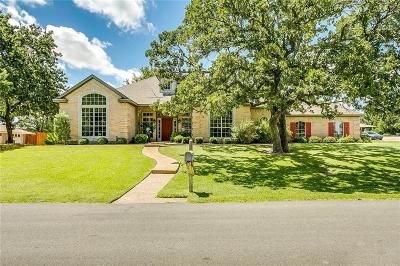 Weatherford Single Family Home For Sale: 1812 Lakeridge Drive