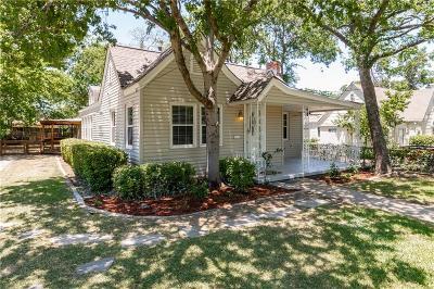 Dallas Single Family Home For Sale: 811 N Montclair Avenue