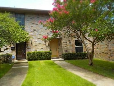 Townhouse For Sale: 10619 Stone Canyon Road