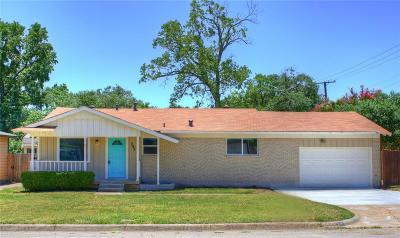 Hurst Single Family Home Active Option Contract: 785 Cullum Avenue