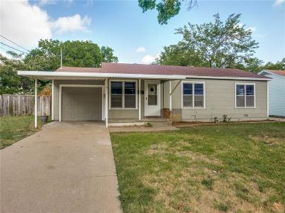 Burleson Single Family Home Active Option Contract: 113 NE Anderson Street