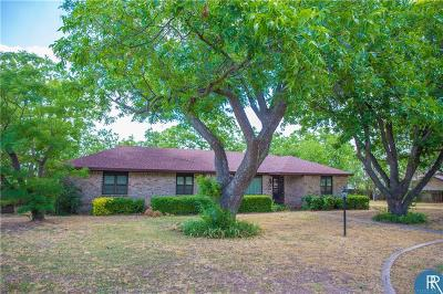 Rising Star TX Single Family Home For Sale: $189,000