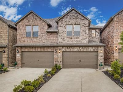Plano Townhouse For Sale: 4521 Titus Circle