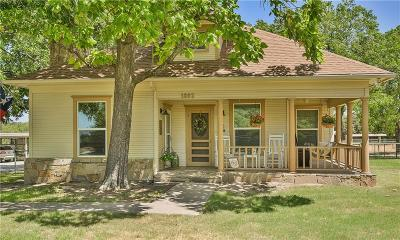 Weatherford Single Family Home For Sale: 1802 A Greenwood Road
