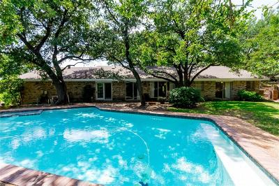 Euless Single Family Home Active Option Contract: 1309 Woodridge Circle