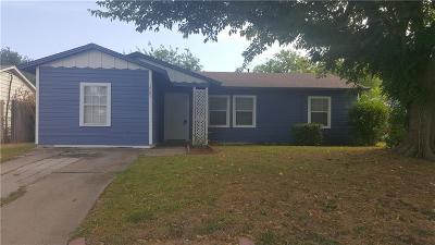Arlington Single Family Home Active Option Contract: 1703 Dale Drive