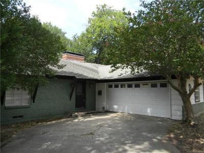 Dallas Single Family Home For Sale: 6619 Ridgemont Drive