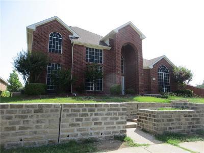 Mesquite Single Family Home For Sale: 1708 Fredricksburg Drive