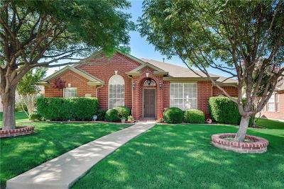 Frisco Single Family Home Active Option Contract: 10812 Robincreek Lane