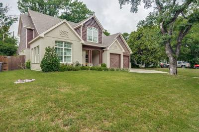 Fort Worth Single Family Home For Sale: 809 Edgefield Road