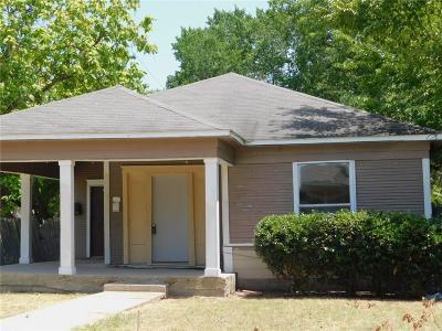 Dallas Single Family Home For Sale: 5346 Ash Lane
