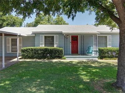 White Settlement Single Family Home Active Contingent: 7836 Corina Drive