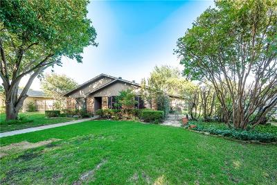 Plano Single Family Home Active Option Contract: 6644 Osage Trail