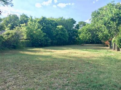 Plano Residential Lots & Land Active Option Contract: 807 13th Street
