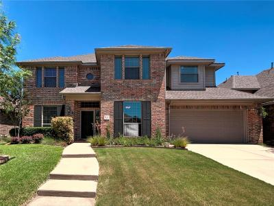 Mckinney Single Family Home Active Option Contract: 7112 Royal Glen Trail