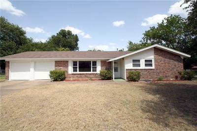 Benbrook Single Family Home For Sale: 3825 Cresthill Road