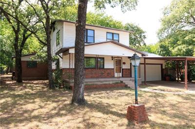 Haltom City Single Family Home Active Contingent: 3127 Layton Avenue