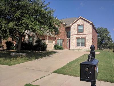Rowlett Single Family Home Active Option Contract: 10217 Fairway Vista Drive