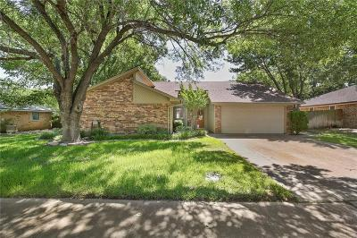 Euless Single Family Home Active Option Contract: 1208 Hillcrest Drive