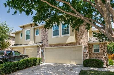 Frisco Townhouse Active Option Contract: 9830 Wake Bridge Drive