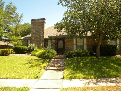 Allen Single Family Home Active Contingent: 1100 Sandy Creek Drive