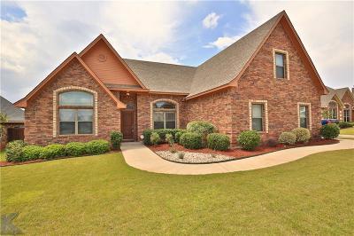 Abilene Single Family Home For Sale: 4433 Margaritas Way