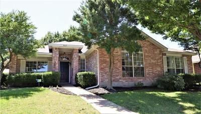 Mckinney Single Family Home Active Contingent: 4317 Sarasota Lane