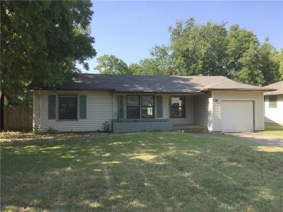 Denton Single Family Home Active Option Contract: 809 Westway Street