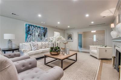 Highland Park Single Family Home For Sale: 4601 Lorraine Avenue