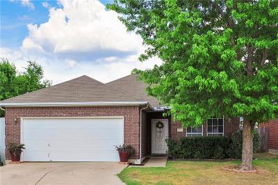 Arlington Single Family Home Active Option Contract: 3501 Cydnie Ann Court