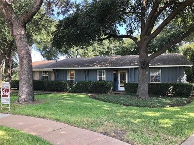 Farmers Branch Single Family Home For Sale: 14615 Cyprus Point Drive
