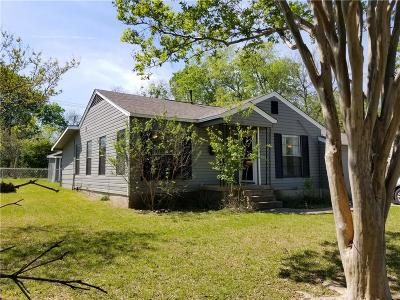 Rockwall, Fate, Heath, Mclendon Chisholm Single Family Home Active Option Contract: 607 Nash Street